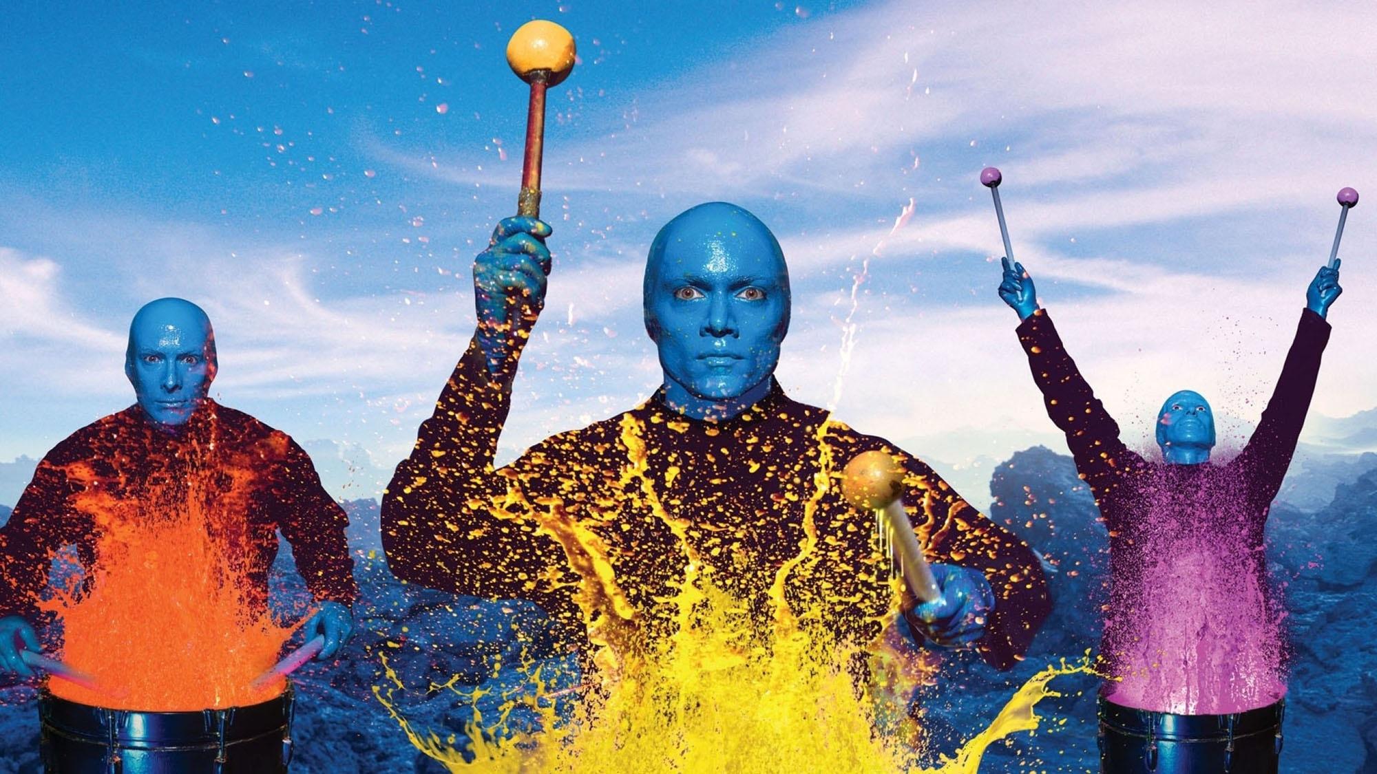 blue man group ticket