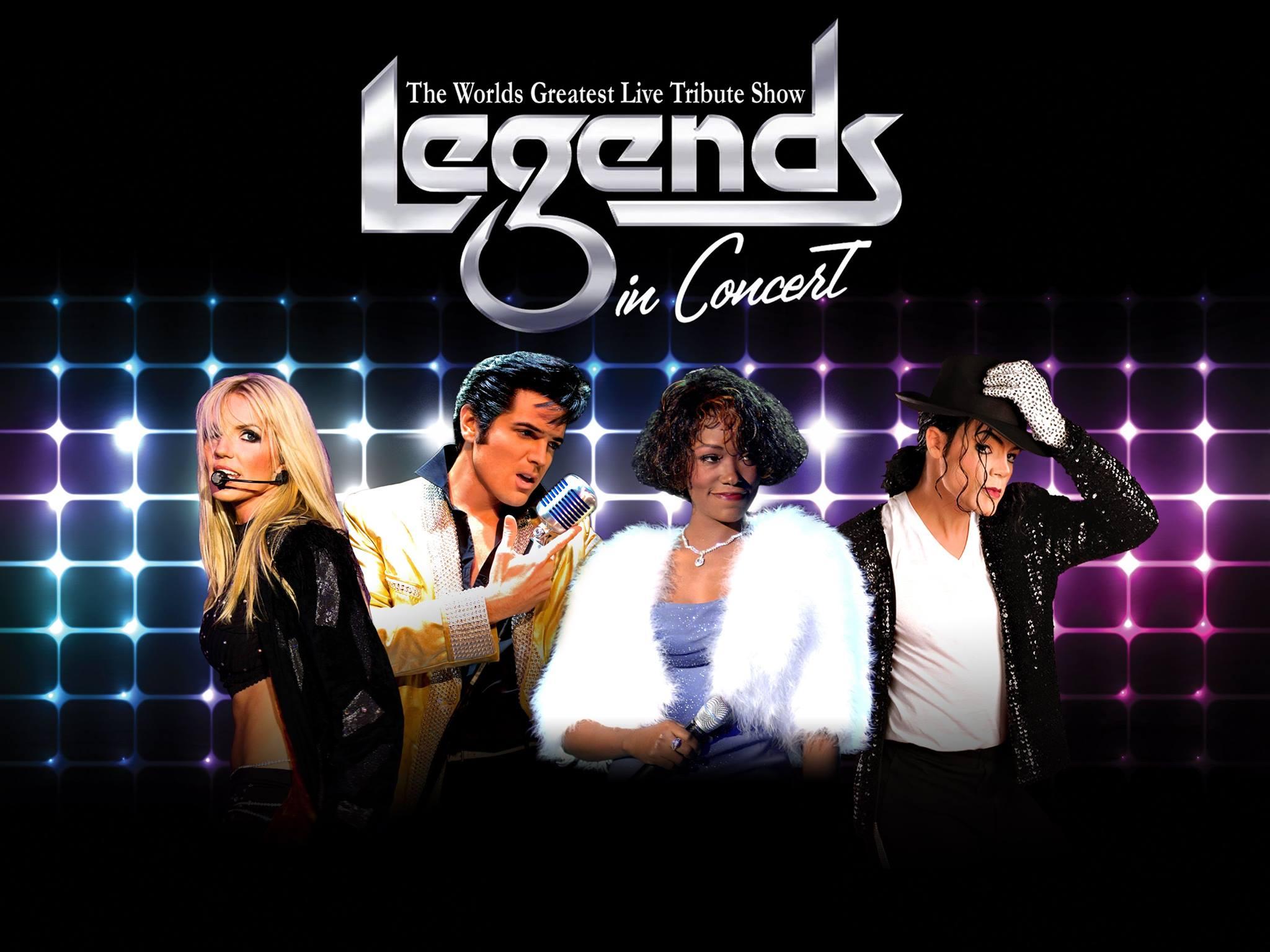 legends in concert las vegas