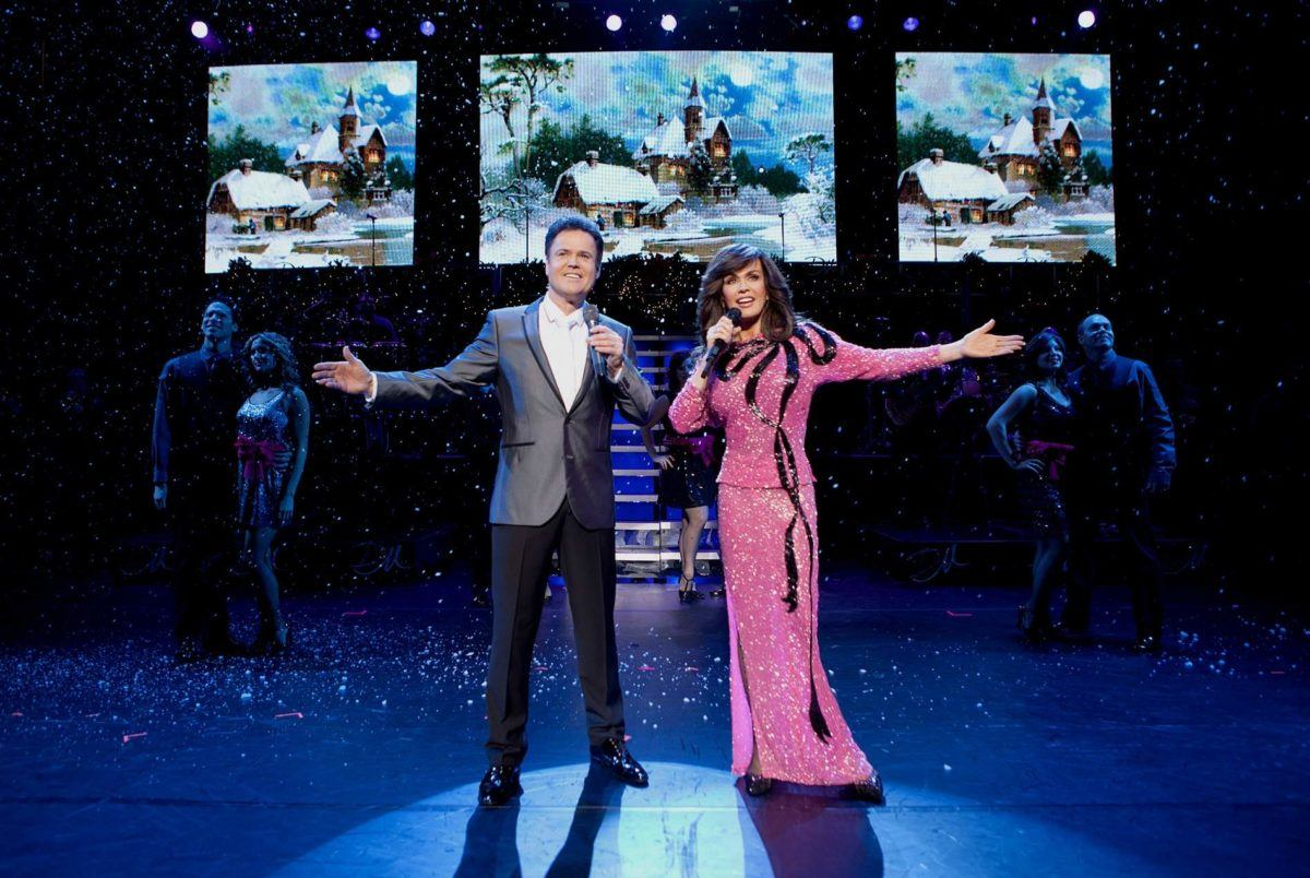 donny and marie vegas show