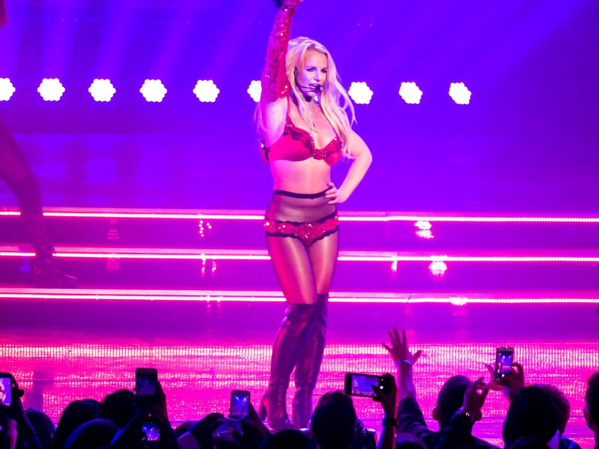 britney spears vegas review