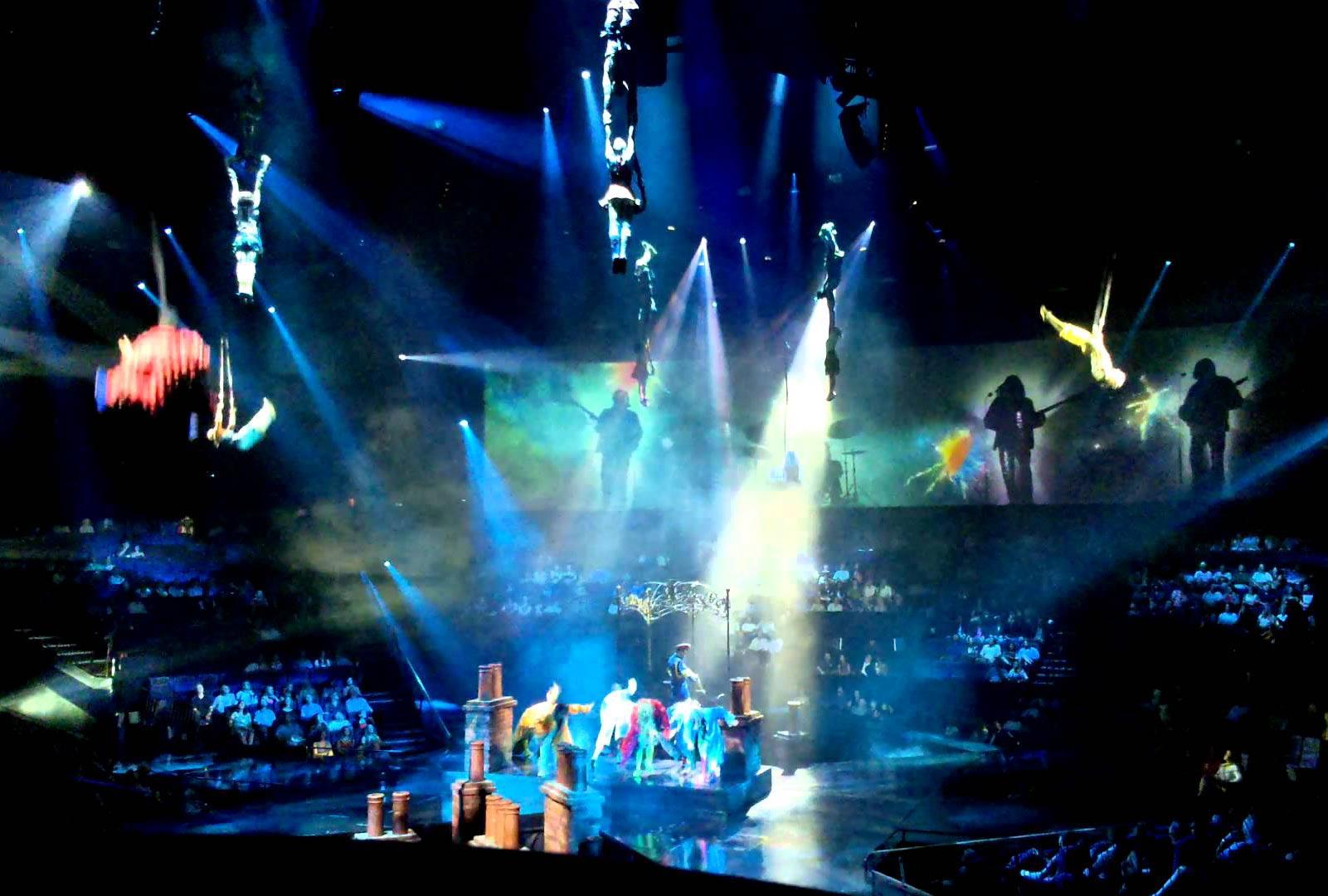 cirque du soleil las vegas beatles