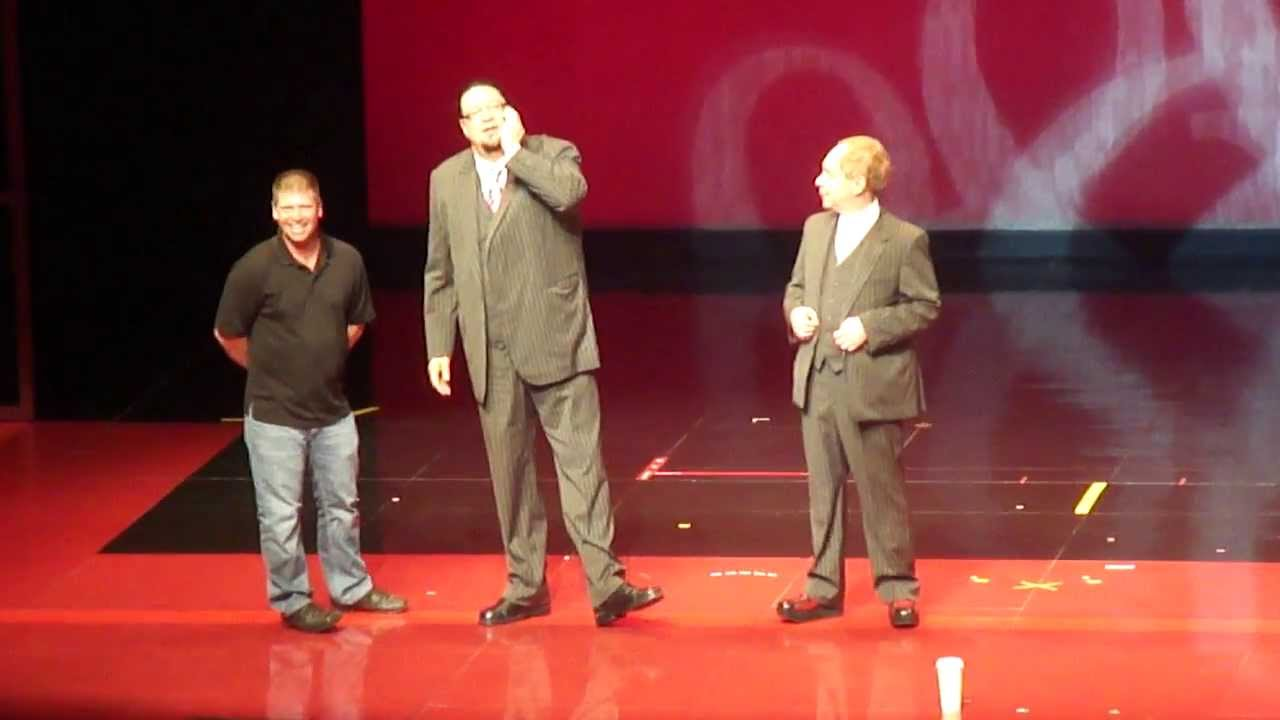 penn and teller show las vegas