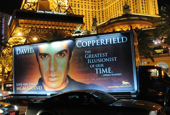 david copperfield vegas tickets